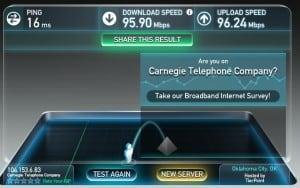 LightSpeed Internet – Carnegie Telephone Company