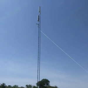 Our new tower south of Fort Cobb Lake will be able to serve REAL INTERNET to people in Crows Roost, Swan Lake, as well as many other areas around the lake.
